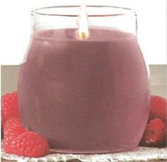 "Raspberry Fizz Deluxe Candle 14.5 oz.  Color: Mauve  Our Deluxe Candles offer the essence of layered fragrances in a variety of decorative colors.  Each unique candle contains 14.5 oz of a high quality soy blended wax. 4"" x 5"", approximate burn time 80 hours. Hand crafted in the USA."