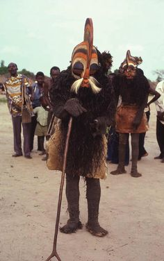Mask of elder, Ndale; village kikomo, kiloshi  chiefdom, Eastern Songye.  Photo: © DuNja hErSak, 1978