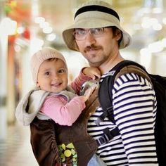 Love this babywearing dad pic! (Boba Carrier 4G in Tweet)