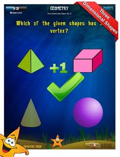 Geometry Apps - First Grade Math Apps
