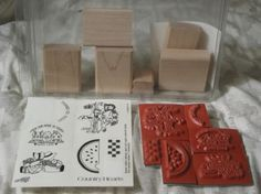 STAMPIN UP Country Hearts Unmounted 6 Ink Stamp Set http://AJunkeeShoppe.Webstore.com