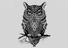Meaning Of Tribal Owl Tattoo Tribal Owl Tattoos, Owl Tribal