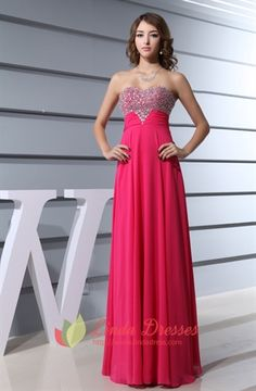 Show details for Hot Pink Prom Dresses With Diamonds 2015 For Women,Fuschia Crystal Beaded Top Long Prom Dress