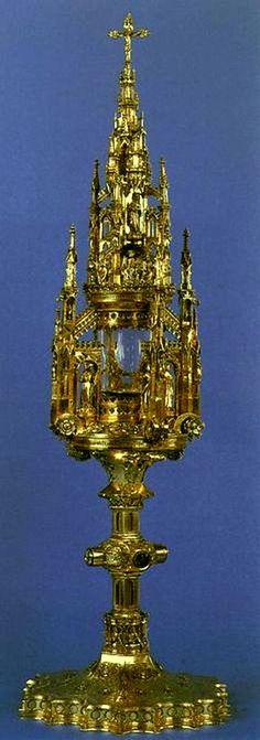 Monstrance Silver and gilt 1394 Ratingen