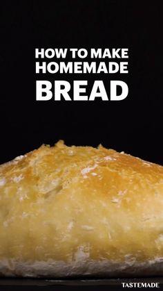 Fun Baking Recipes, Easy Bread Recipes, Dessert Recipes, Cooking Recipes, Canapes Recipes, Tastemade Recipes, Food Videos, Food Inspiration, Love Food