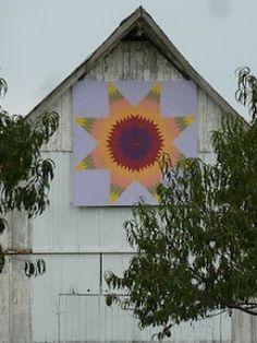 Barn quilt in Calhoun County, Illinois