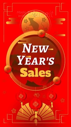 Use this video maker to easily make professional videos to promote your business or brand. Chinese New Year Gif, Chinese New Year Poster, Chinese New Year Design, New Years Poster, Poster Sport, Poster Cars, Poster Retro, New Year Card Design, New Year Designs
