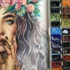 Beautiful By @humid_peach _ #arts_help