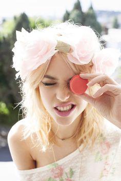Ever Rose Crown, Rosebud Knit