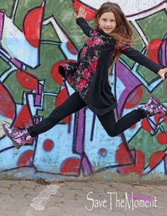 Jolinas Welt: Lottis Zipfelshirt, Schnittmuster von Mitosa-Kreativ, Stoffe von #Lillestoff