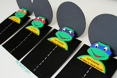 Teenage Mutant Ninja Turtles Invitations Ninja by TheCraftyTees