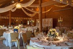 Styal Lodge wedding reception decorations - Laurel Weddings
