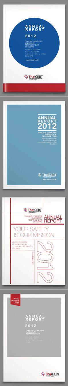 Cover ThaiCert Annual Report