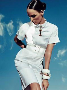 Fashion Editorials: White is The New Black