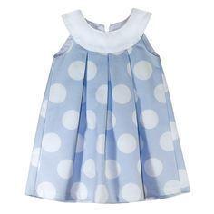 Dress with round flap and pleats - DIY- marlene mukai - children's mold Toddler Dress, Toddler Outfits, Baby Dress, Kids Outfits, Little Dresses, Little Girl Dresses, Cute Dresses, Summer Dresses, Baby Girl Fashion
