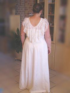 Couture et démesure Blog: Histoire de la création d'une robe de mariée 3