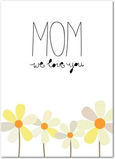 Daisy Day - Mother's Day Greeting Cards in White | Magnolia Press