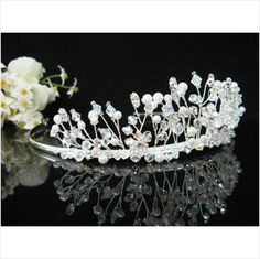Crystal Bridal Tiara Wedding tiaras accessories bridesmaid comb veil Crown 7783s Listing in the Hair Accessories,Bridesmaid,Weddings,Occasions & Seasonal Category on eBid Australia