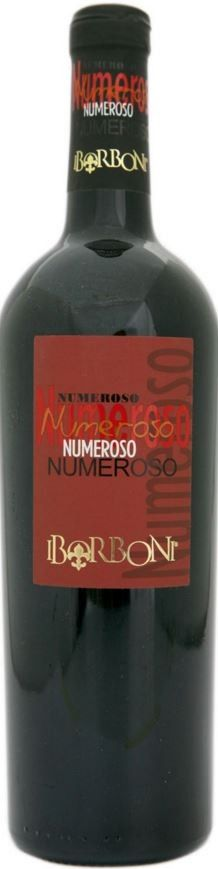 AGLIANICO P.G.I. RED WINE NUMEROSO - I BORBONI  This ruby red wine is named after the family Numeroso, owners of the namesake winery I Borboni. The nose releases aromas typical of Aglianico young, as cherry crisp and black pepper, while the tasting is nice thin body and good freshness.