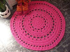 Crochet rug  housewares  Free shipping by NavitrineShop on Etsy