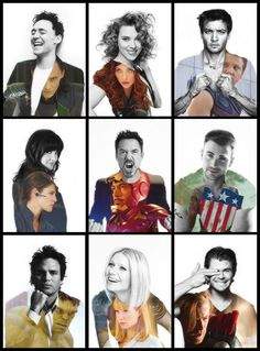 Avengers cast. I would just love to spend a day with them. Now that would be the best day ever!