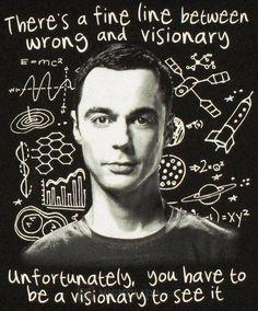 Sheldon on Big Bang Theory