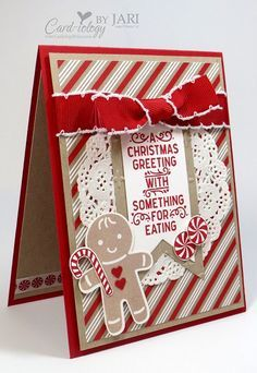 Stampin' Up! Cookie Cutter Christmas Peek | Card-iology By Jari | Bloglovin'