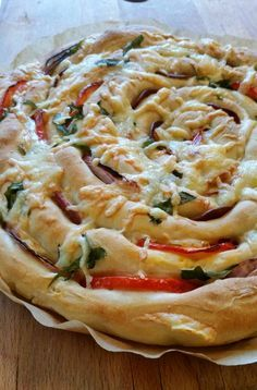 Pizza Tarts, Dessert For Dinner, Different Recipes, Pizza Recipes, Vegetable Pizza, Food Inspiration, Good Food, Food And Drink, Favorite Recipes