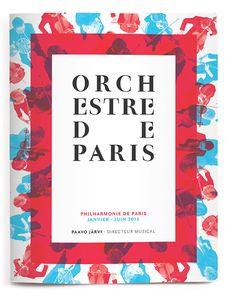 Let's celebrate a typographic night at the Orchestre de Paris