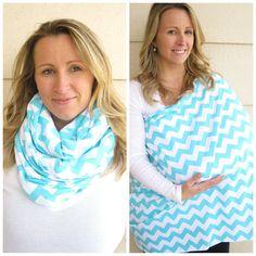 Hey, I found this really awesome Etsy listing at https://www.etsy.com/listing/178526465/nursing-scarf-in-atiffany-blue-chevron