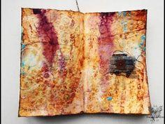 'New flight'... art journaling