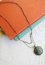 amazonite allure necklace by Ollipop