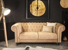 sofá chester terciopelo vical