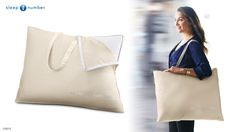 Take your pillow anywhere with this #SleepNumber protective tote. It's a great gift for seasoned travelers.