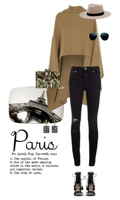 """Paris!"" by fanfan-zheng ❤ liked on Polyvore featuring Madeleine Thompson, Closed, KOTUR, Zimmermann, MANGO and Todd Pownell"