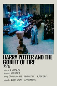 Harry Potter Movie Posters, Iconic Movie Posters, Harry Potter Facts, Harry Potter Movies, Iconic Movies, Film Posters, Mini Poster, Imprimibles Harry Potter, Harry Potter Goblet