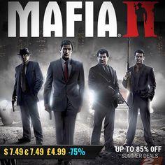 Sila Games summer sale #gamedeals Mafia II -75% Off $7.49 7.49 4.99 http://ift.tt/2uPbtd7 #2k #pcgaming #pcgamer #gaming #siladeals