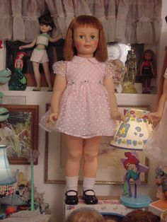 Patty Play Pal doll. My Christmas present with the same name as me...and almost as tall as me.