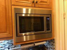 Custom Trim Kit For A Kitchenaid Microwave Model Kcms1655bss