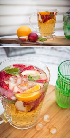 Fruity White Wine Sangria Recipe  |  Adeline & Lumiere Photography  http://adelineandlumiere.com/2013/04/03/fruity-white-wine-sangria/  #cocktail #recipe