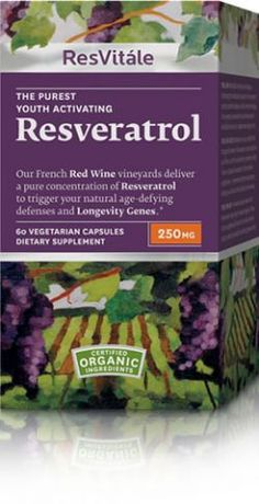 Reawaken youthful activity with this revitalizing, age-defying regimen.* Resveratrol 250 mg helps maintain youthful cellular activity with the clinically demonstrated benefits of 1,000 glasses of red wine. Our Resveratrol Polyphenol Complex™ supports longevity gene activation, promoting healthy cellular aging and a long, active life.*    *These statements have not been evaluated by the Food and Drug Adminstration.  This product is not intended to diagnose, treat, cure or prevent any disease.