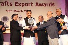 Top Export Award, under all handicrafts category was given to C.L. Gupta Exports Ltd, Amroha, Moradabad.