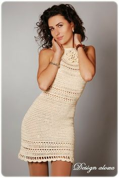 http://crochetemoda.blogspot.com.br/search/label/Vestidos No pattern.