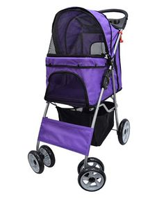 VIVO Four Wheel Pet Stroller, for Cat, Dog and More, Foldable Carrier Strolling Cart, Multiple Colors * Awesome dog product. Click the image : Dog Carriers and Travel Products Cat Stroller, Stroller Cover, Single Stroller, Big Dogs, Small Dogs, Cat Dog, Baby Jogger, Dog Carrier, Dog Accessories