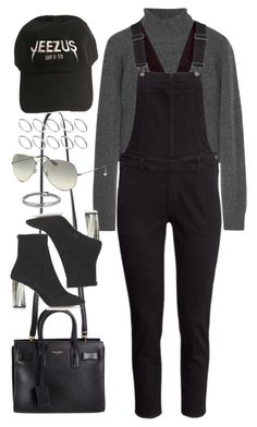 """""""Sin título #1036"""" by osnapitzvic ❤ liked on Polyvore featuring T By Alexander Wang, H&M, Yves Saint Laurent, Topshop, ASOS, Ray-Ban and David Yurman"""
