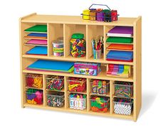 Heavy-Duty Spacemaker Storage Unit  $469.00  Color Bins -- Set of 10 (not shown)  $49.50