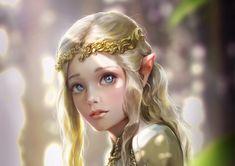 elves, Women, Crown Wallpaper