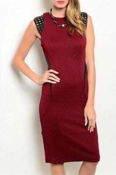68$  Buy here - http://vizdb.justgood.pw/vig/item.php?t=gl7pe936853 - Textured Midi Dress 68$