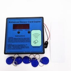 ==> [Free Shipping] Buy Best Wholesale 125khz RFID ID EM Electric Door Card Reader&Writer&Copier/Duplicater with 5pcs T5577 key tag&cards For Access Control Online with LOWEST Price | 2051029001