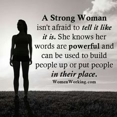 Are you woman enough to handle the truth??